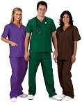 Prestige Medical Premium 3 Pocket Scrub Top #5700-T