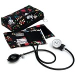 Prestige Medical Premium Aneroid Sphygmomanometer with Color Coordinated Carrying Case #882-Medi Girl