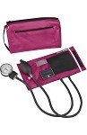 Mabis Premium Aneroid Sphygmomanometer with Color Coordinated Carrying Case #882 - Magenta