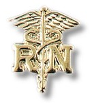 Registered Nurse Caduceus Insignia Tac #91