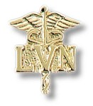 Licensed Vocational Nurse Caduceus Insignia Tac #92