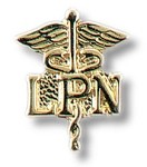 Licensed Practical Nurse Caduceus Insignia Tac #93