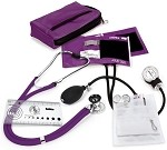Aneroid Sphygmomanometer/Sprague Nurse Kit with Carrying Case #A5