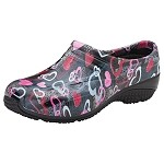 Cherokee's AnyWear Women's Exact Clog in Hearts Gone Wild