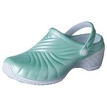 Dickies ZigZag Women's Clog w/backstrap in Pastel Mint