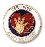 Certified Acupuncturist Pin #1014