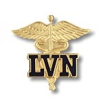 Licensed Vocational Nurse Pin (CA & TX Only) #1022