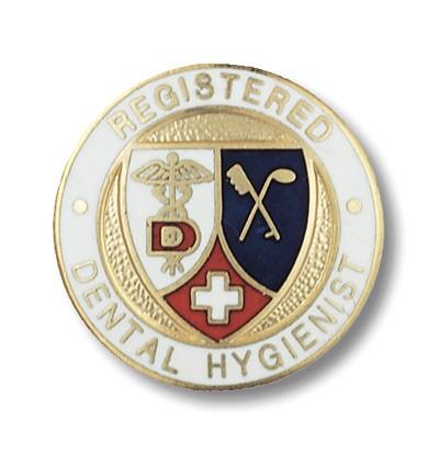 Registered Dental Hygienist Pin 1089
