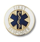 First Responder Pin #1091