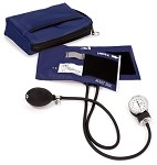 #768 Professional Adult Aneroid Sphygmomanometer with Color Coordinated Carrying Case
