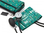 ADC Prosphyg™ 768 Pocket Aneroid Sphygmomanometer with Color Coordinated Carrying Case, Medical Theme #768-11AMT