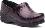 Dansko Professional Women's Clog Wine Medallion Patent Leather #406880202