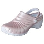 Dickies ZigZag Women's Clog w/backstrap in Pastel Pink