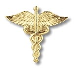 Caduceus Pin #1020