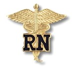Registered Nurse Pin #1021