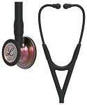 3M™ Littmann® Cardiology IV™ Diagnostic Stethoscope, Rainbow Finish Chestpiece, Black Tubing, 27 inch
