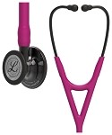 3M™ Littmann® Cardiology IV™ Diagnostic Stethoscope, Smoke Finish Chestpiece, Raspberry Tubing, 27 inch