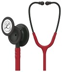 3M™ Littmann® Classic III™ Monitoring Stethoscope, Black Finish Chestpiece, Burgundy Tubing