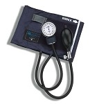 CALIBER™ Adjustable Adult Aneroid Sphygmomanometer with Blue Nylon Cuff #133