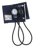 Economy Adult Aneroid Sphygmomanometer with Blue Nylon Cuff #070