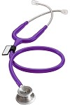 MDF® MD One® Stainless Steel Dual Head Stethoscope, Purple Rain Tubing MDF 777
