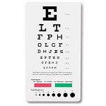 Prestige Medical Snellen Pocket Eye Chart #3909