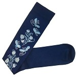 Prestige Medical Compression Socks, Dragonflies Navy #386-DFN